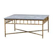 Berny Stone-Top Coffee Table