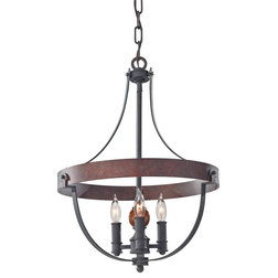 New Rustic Chandeliers by ALCOVE LIGHTING