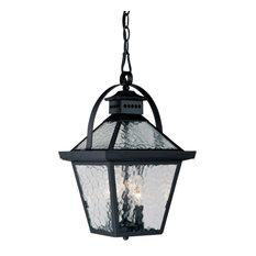 "Acclaim Lighting 7676 Bay Street 3 Light 16.5""H Outdoor Pendant - Matte Black"