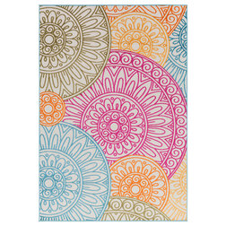 Contemporary Outdoor Rugs by Heaven's Gate Home, LLC