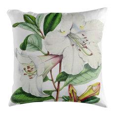 Rhododendron Botanical Cushion, 50x50 cm