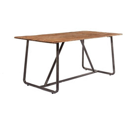 Industrial Dining Tables by Lombok