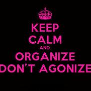 Foto de Organize Don't Agonize