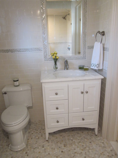 Fabulous Traditional Bathroom by Nanette Baker of Interiors by Nanette LLC
