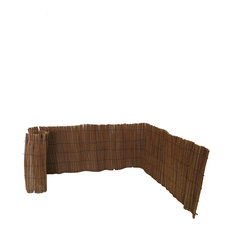 """Peeled Willow Border Fence, 24""""H x 96""""L"""