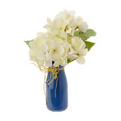 Flowers in a Blue Vase, Hydrangea