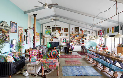 Houzz Tour: Colourful Converted Shed in Byron Bay