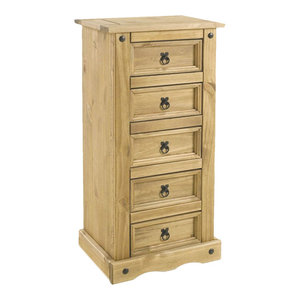 Vida Designs Corona 5-Drawer Chest of Drawers