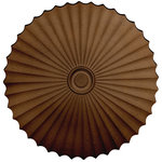 """Ekena Millwork - 47 5/8""""OD x 2""""P Shakuras Ceiling Medallion, Rubbed Bronze - Enrich and upgrade your ordinary ceiling with a lightweight hand-painted beautiful medallion.  One advantageous aspect of installing our medallions is it can be very inexpensive for the value and positive changes it can bring to a space.  Hand-painted medallions add dimension and texture, character, and vintage charm with limitless designs to match every d�cor style.  And we offer the largest collection of designs to give you that distinct look you desire and provide a lasting transformation."""