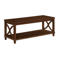 Convenince Concepts Florence Coffee Table Espresso Wood Finish