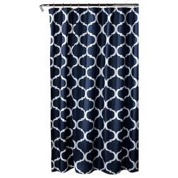 Mediterranean Shower Curtains by Lush Decor