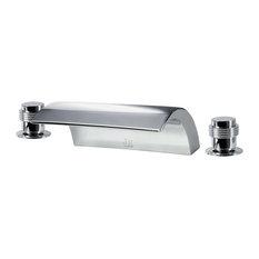 Roman Tub Faucet Set, Chrome