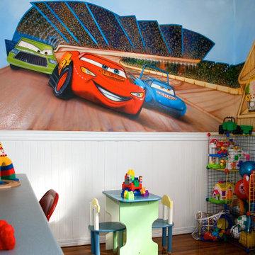Bedroom- Cars