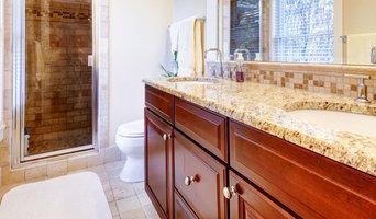 Ny stenkskiva i badrummet
