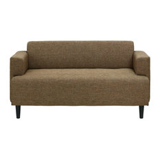 Superb Furinno   Furinno Simply Home Modern Fabric Sofa Bed, Brown   Sleeper Sofas