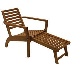 Unique Transitional Outdoor Lounge Chairs by Outdoor Interiors