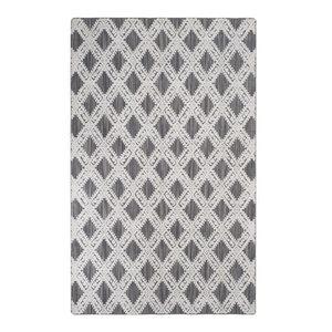 Safavieh Mirage MIR901B Gray/Ivory Rug, 9'x12'Rectangle