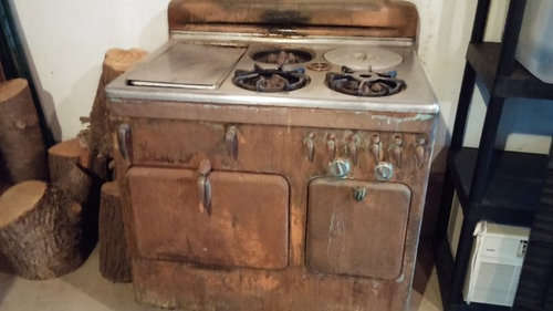 Copper Chambers Stove Keep Or Scrap
