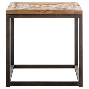 Vichy Industrial Side Table