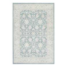 """Traditional Persian Vintage Rug, Blue, 6'7""""x9'"""