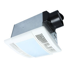 Ultra Quiet 90 CFM 1.5 Sone Bathroom Exhaust Fan, LED Lights