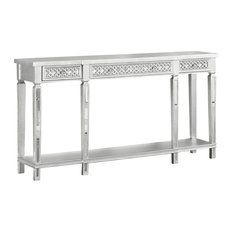 Furniture Import & Export Inc. - Monterey Silver Rectangular Sofa Table - Console Tables