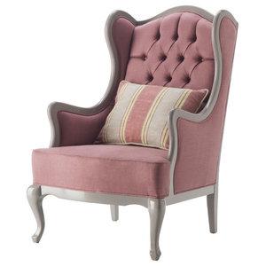Classic Style Capitonn�� Armchair