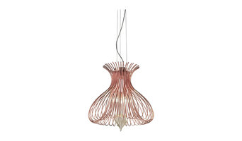 Metal Lux Silhouette Small Pendant Light, Copper