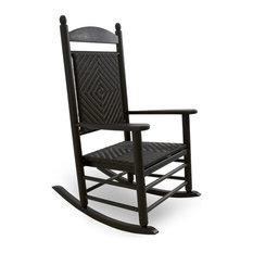Polywood - Eco-friendly Woven Rocker in Cahaba - Rocking Chairs