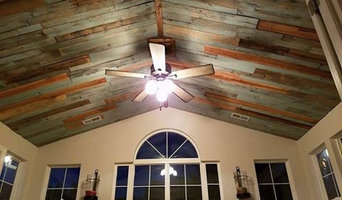 Salvaged Wood Ceiling
