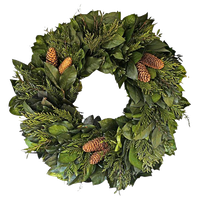 Chateau Dried Holiday Wreath