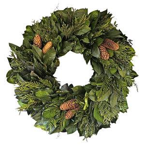 Chateau Dried Holiday Wreath