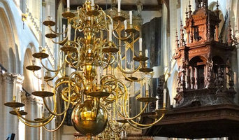 Delivery (1972) of Chandeliers to the Nieuwe kerk Amsterdam (New Church Amsterda
