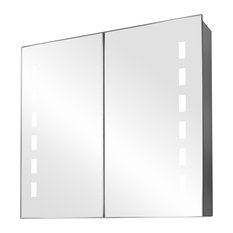 Sacha Ambient Light Demisting Bathroom Cabinet, Built-In Speakers