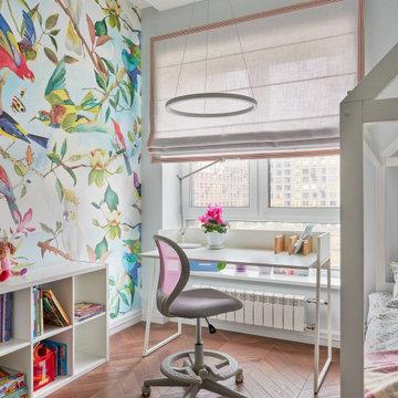 Воздушная и легкая квартира