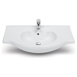 Perfect Contemporary Bathroom Sinks by TheBathOutlet