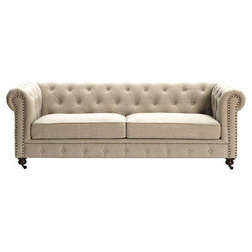 Traditional Sofas By Luxe Home Decorators