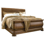 Pennsylvania House - Universal New Lou Louie P's Cal King Sleigh Bed - Available in Queen, King, and California King sizes