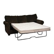 "Pemberly Row - Pemberly Row 5"" Twin Innerspring Plush Sofa Bed Mattress, White -"