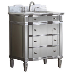 Perfect Traditional Bathroom Vanities And Sink Consoles by Modetti USA LLC
