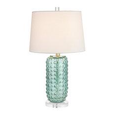 Caicos 1 Light Table Lamp, Green