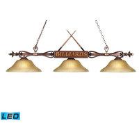 Elk Lighting 194-WD-G6-LED Designer Classics Transitional Billiard Light