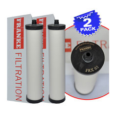 Franke FRX-02 Triflow Filter Replacement Cartridge With Lead Removal, 2 Pack