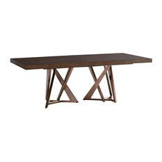 Loggia Rectangular Double Pedestal Dining Table
