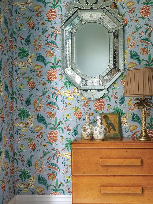 englische tapeten und stoffe von osborne little cubana. Black Bedroom Furniture Sets. Home Design Ideas