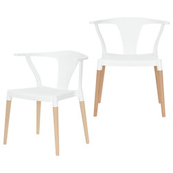 Midcentury Dining Chairs by eModern Decor