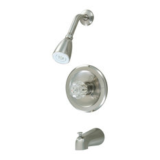 Hardware House Tub and Shower Faucet, Satin Nickel