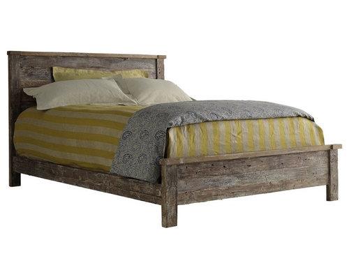 Hampton Teak Platform California King Bed - Platform Beds - Reclaimed Wood Furniture