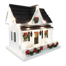 Holiday House Birdhouse
