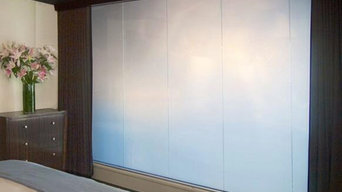 Master Bedroom - Liquid Crystal Switchable Privacy Glass